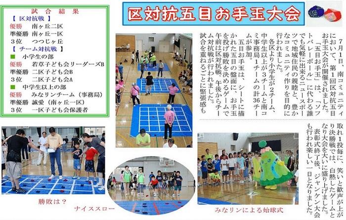 8月号南コミ通信・南風_otedama.jpg